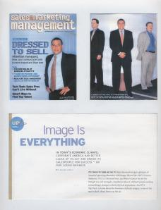 Cover and Interview in Sales and Marketing Management Magazine